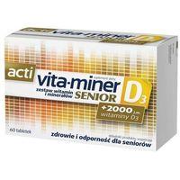 Witaminy i minerały, Acti Vita-miner Senior D3 x 60 tabletek