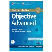 Książki medyczne, Objective Advanced 4ed Teacher's Book with Teacher's Resources Audio CD/CD-ROM egzamin 2015 (opr. twarda)