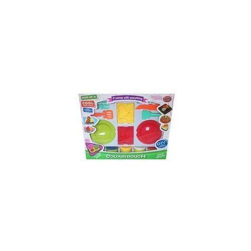 Pozostałe zabawki, Zestaw z plastoliną owoce morza 10 elementów