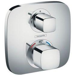 Hansgrohe bateria termostatyczna Ecostat E z zaworem odcinającym element zewnętrzny 15707000