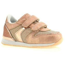 Buty sportowe dla dzieci American Club K17381 - Różowy ||Złoty