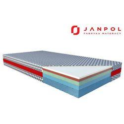 JANPOL SIRONA – materac termoelastyczny, piankowy, Rozmiar - 160x200, Pokrowiec - Biaxial NAJLEPSZA CENA, DARMOWA DOSTAWA