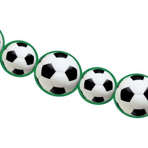 Pozostałe wyposażenie domu, Girlanda Piłka Nożna - 243 x 14 cm - 1 szt.