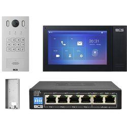 "Wideodomofonu IP BCS-PAN1601S-S + Monitor 7"" BCS-MON7400B-S Natynkowy"