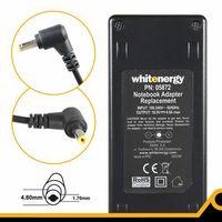 Zasilacze do notebooków, Whitenergy Zasilacz 18.5V 4.5A 83W wtyczka 4.8 x 1.7mm HP Compaq