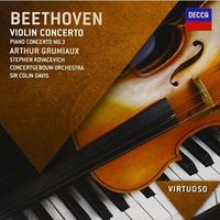 Pozostała muzyka poważna, Beethoven: Violin Concerto, Piano Conc. 3 (Virtuoso)