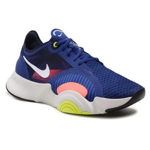 Męskie obuwie sportowe, Buty NIKE - Superrep Go CJ0773 410 Deep Royal Blue/White