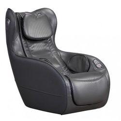 Fotel do masażu ADRASTEE ze skóry syntetycznej — opcja Bluetooth — antracytowy