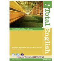 Książki do nauki języka, New Total English Flexi Starter Course Book 1 (podręcznik z ćwiczeniami) (opr. miękka)