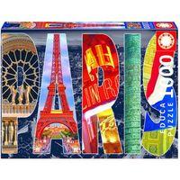 Puzzle, EDUCA 1000 EL. Paris Collage
