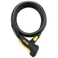 Zabezpieczenia do roweru, Onguard Rottweiler 8024 Zapięcie kablowe 120 cm czarny Linki rowerowe
