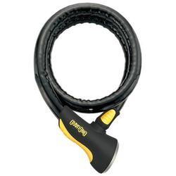 Onguard Rottweiler 8024 Zapięcie kablowe 120 cm czarny Linki rowerowe