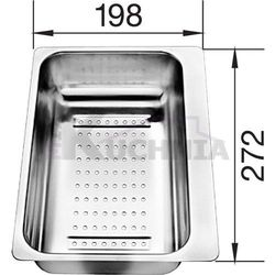 Odsączarka BLANCO ze stali szlachetnej 280x198x72mm (217796)