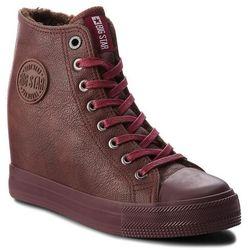 Sneakersy BIG STAR - BB274303 Burgund