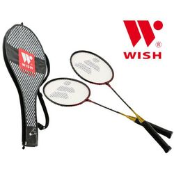 Rakiety Badminton Wish ELITE 308 Zestaw