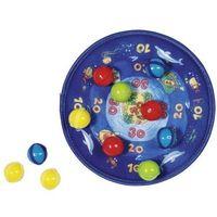 Gry dla dzieci, Tarcza z rzutkami - zabawka sportowa - Goki