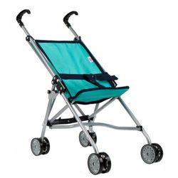 Wózek dla lalek parasolka turkusowa mega creative 438318