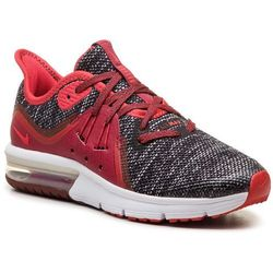 Buty NIKE - Air Max Sequent 3 (GS) 922884 009 Black/University Red/White