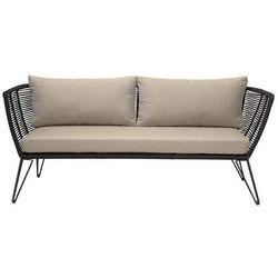 Bloomingville Mundo Sofa metalowa czarna