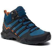Męskie obuwie sportowe, Buty adidas - Terrex Swift R2 Mid Gtx GORE-TEX G26551 Legmar/Cblack/Teccop