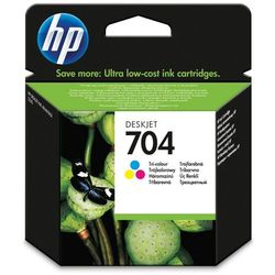 HP 704 tusz kolorowy (oryg.) tusz do HP Deskjet Ink Advantage 2010, HP Deskjet Ink Advantage 2060