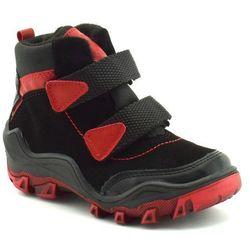 Buty zimowe dla dzieci Kornecki 06394 Czarne - Czerwony ||Czarny