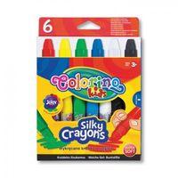 Kredki, Wykręcane kredki żelowe w sztyfcie 6 kolorów