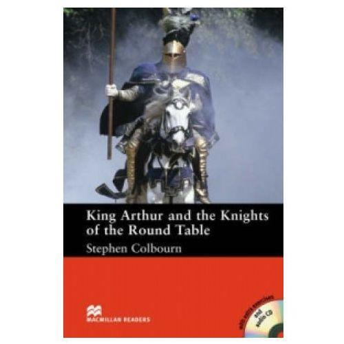 Książki do nauki języka, King Arthur And The Knights Of The Round Table. Macmillan Readers Intermediate