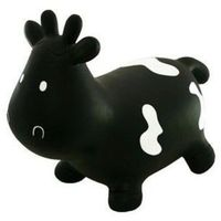 Pozostałe zabawki dla najmłodszych, Skoczek krówka Czarna - DARMOWA DOSTAWA OD 250 ZŁ!!
