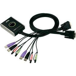 ATEN CS682 2-Port USB DVI KVM Switch, Audio 2.1, Remote port selector (1.8m)
