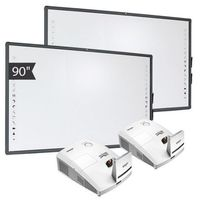 Tablice interaktywne, ZESTAW: 2 x AVTek TT-Board 90 PRO + projektor ulktakrótkoogniskowy Vivitek D757WT - AKTYWNA TABLICA