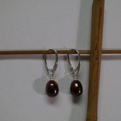 Kolczyki perły naturalne PP20C02-12