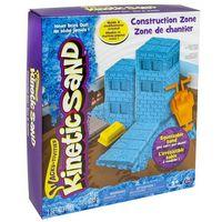 Piasek kinetyczny, Kinetic Sand Kinetic Sand Plac Budowy, 290 g - BEZPŁATNY ODBIÓR: WROCŁAW!