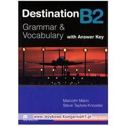 Destination B2 Grammar & Vocabulary Książka (z Kluczem) (opr. miękka)