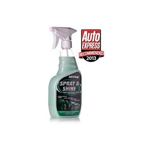 Szampony samochodowe, Britemax Spray & Shine Premium Detail Spray 709ml rabat 50%