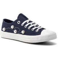 Damskie obuwie sportowe, Trampki BIG STAR - DD274609 Navy