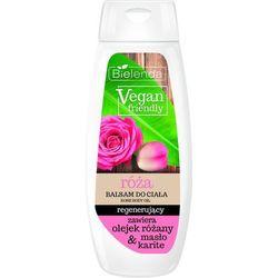 Bielenda Vegan Friendly Balsam do ciała regenerujący Róża 400ml