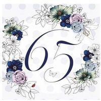 Pozostałe artykuły szkolne, Karnet Swarovski kwadrat CL1465_PO Urodziny 65