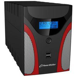PowerWalker UPS Line-Interactive 1200VA 4x PL 230V, USB, LCD, 2x ładowarka USB