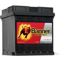 Akumulatory samochodowe, Akumulator Banner Power Bull 42Ah 390A EN kostka PRAWY PLUS
