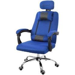 Fotel biurowy GIOSEDIO niebieski, model GPX008