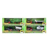 Traktory dla dzieci, Traktor metalowy z akcesoriami