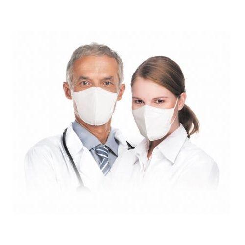 Maseczki i przyłbice ochronne, Respimask RespiPro White półmaska przeciwwirusowa norma FFP2, maseczka filtrująca Respilon®