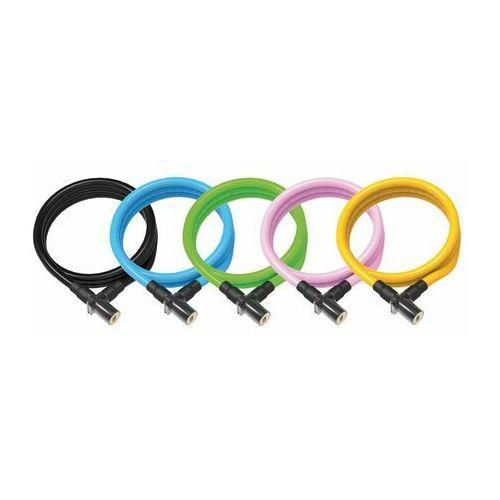 Zabezpieczenia do roweru, Zapięcie rowerowe ONGUARD 8192BL Linka - 8mm 150cm - 2 x Klucze czarne (NEW)