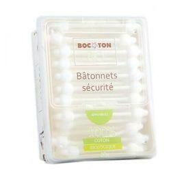 BOCOTON Ekologiczne patyczki kosmetyczne dla dzieci BIO 60szt