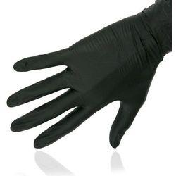 RNITRIO Rękawice BLACK nitrylowe -CZARNE S- 100szt