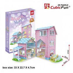 Puzzle 3D Domek dla Lalek 73 elementy