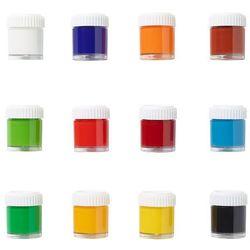 LB EDU Farby plakatowe 12 kolorów x 22ML