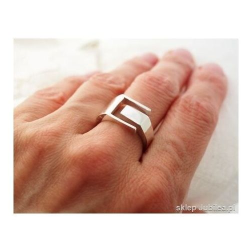 Pierścionki i obrączki, Allmost - srebrny sygnet pierścień unisex