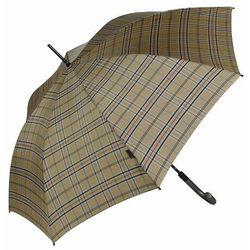 Knirps T.703 stick automatic Parasol na kiju, długi 88 cm check beige ZAPISZ SIĘ DO NASZEGO NEWSLETTERA, A OTRZYMASZ VOUCHER Z 15% ZNIŻKĄ